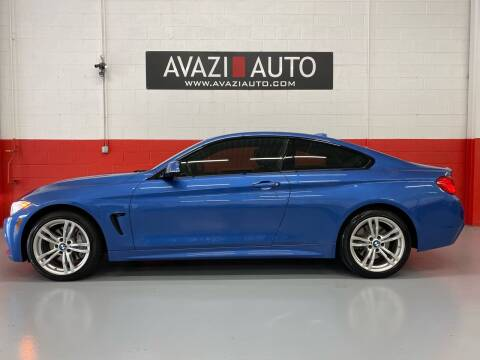 2014 BMW 4 Series for sale at AVAZI AUTO GROUP LLC in Gaithersburg MD