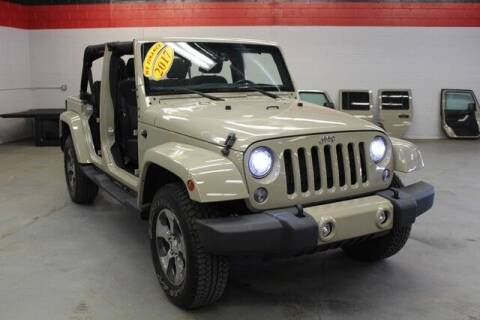 2017 Jeep Wrangler Unlimited for sale at Road Runner Auto Sales WAYNE in Wayne MI