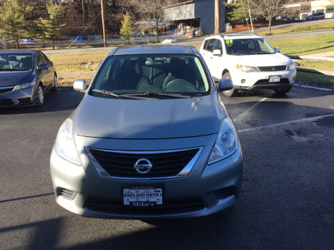 2014 Nissan Versa for sale at Mikes Auto Center INC. in Poughkeepsie NY