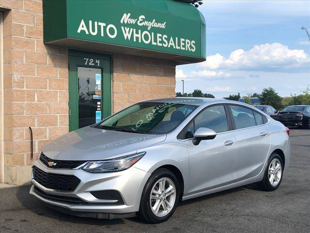 2017 Chevrolet Cruze for sale at New England Wholesalers in Springfield MA