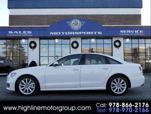 2016 Audi A6 for sale at Highline Group Motorsports in Lowell MA
