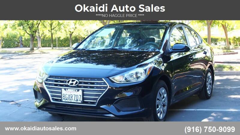 2019 Hyundai Accent for sale in Sacramento, CA