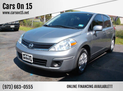 2011 Nissan Versa for sale at Cars On 15 in Lake Hopatcong NJ
