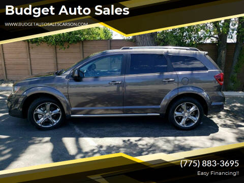 2017 Dodge Journey for sale at Budget Auto Sales in Carson City NV