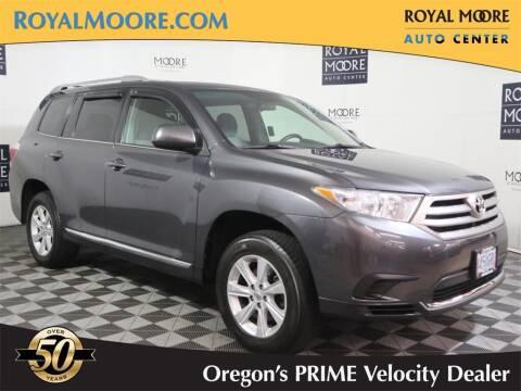 2013 Toyota Highlander for sale at Royal Moore Custom Finance in Hillsboro OR