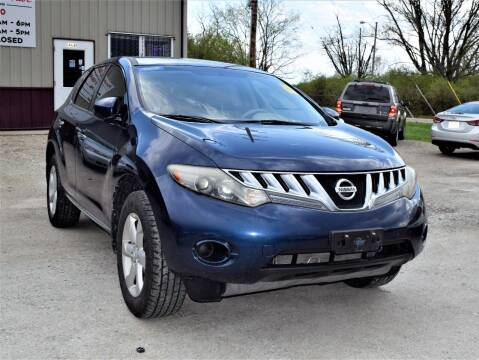 2009 Nissan Murano for sale at PINNACLE ROAD AUTOMOTIVE LLC in Moraine OH