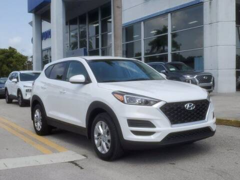 2019 Hyundai Tucson for sale at DORAL HYUNDAI in Doral FL