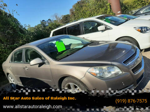 2011 Chevrolet Malibu for sale at All Star Auto Sales of Raleigh Inc. in Raleigh NC