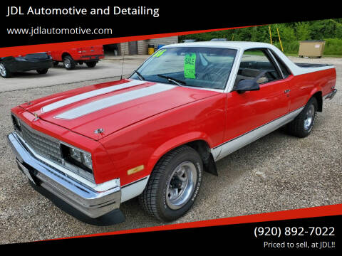 1986 Chevrolet El Camino for sale at JDL Automotive and Detailing in Plymouth WI