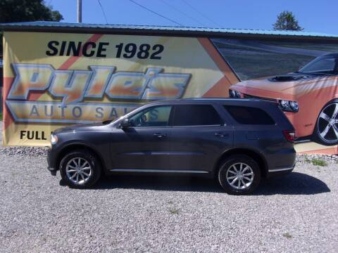 2017 Dodge Durango for sale at Pyles Auto Sales in Kittanning PA