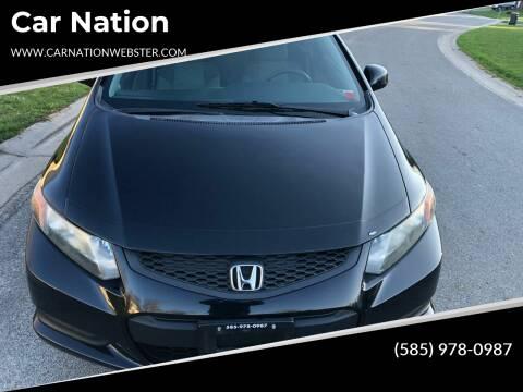2012 Honda Civic for sale at Car Nation in Webster NY