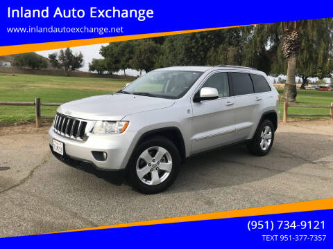 2011 Jeep Grand Cherokee for sale at Inland Auto Exchange in Norco CA