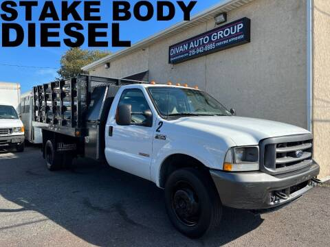 2004 Ford F-550 Super Duty for sale at Divan Auto Group in Feasterville Trevose PA