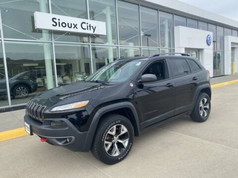 2017 Jeep Cherokee for sale at Jensen's Dealerships in Sioux City IA