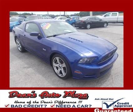2013 Ford Mustang for sale at Dean's Auto Plaza in Hanover PA