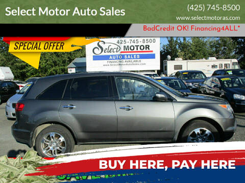 2007 Acura MDX for sale at Select Motor Auto Sales in Lynnwood WA