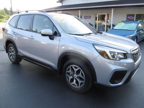 2020 Subaru Forester for sale at Thompson Motors LLC in Attica NY