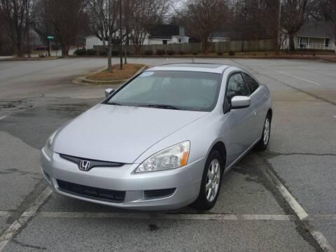 2005 Honda Accord for sale at Uniworld Auto Sales LLC. in Greensboro NC