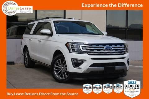 2018 Ford Expedition MAX for sale at Dallas Auto Finance in Dallas TX