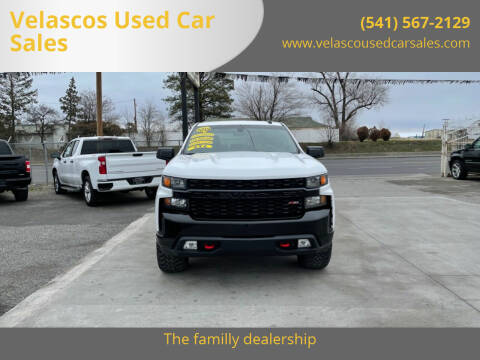 2019 Chevrolet Silverado 1500 for sale at Velascos Used Car Sales in Hermiston OR