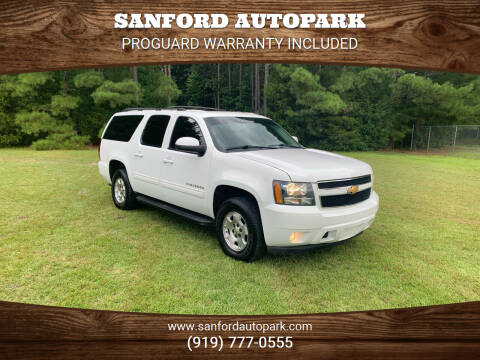 2012 Chevrolet Suburban for sale at Sanford Autopark in Sanford NC