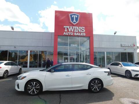 2020 Nissan Maxima for sale at Twins Auto Sales Inc Redford 1 in Redford MI
