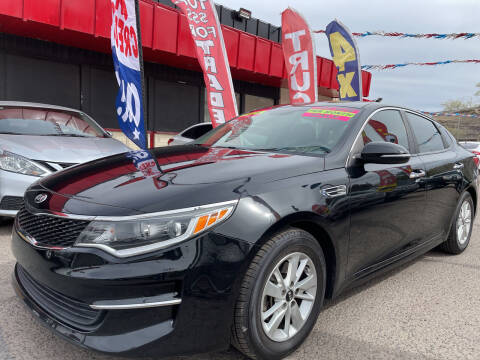 2016 Kia Optima for sale at Duke City Auto LLC in Gallup NM