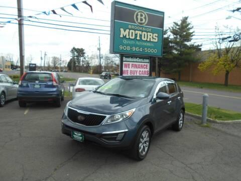 2014 Kia Sportage for sale at Brookside Motors in Union NJ