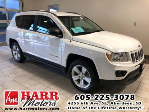2011 Jeep Compass for sale at Harr Motors Bargain Center in Aberdeen SD