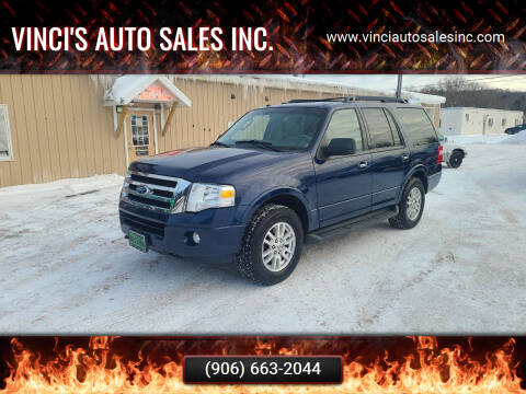 2011 Ford Expedition for sale at Vinci's Auto Sales Inc. in Bessemer MI
