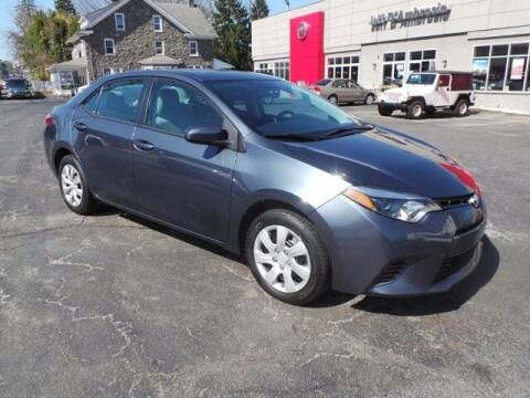 2015 Toyota Corolla for sale at Jeff D'Ambrosio Auto Group in Downingtown PA