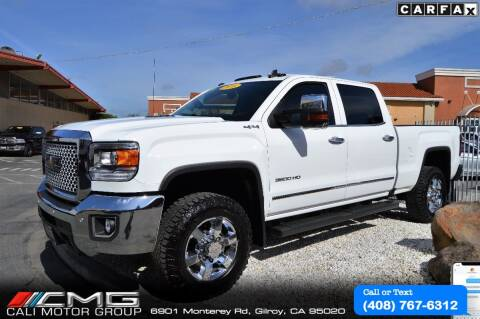 2016 GMC Sierra 3500HD for sale at Cali Motor Group in Gilroy CA