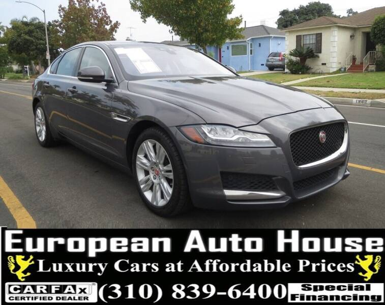 2016 Jaguar XF for sale at European Auto House in Los Angeles CA