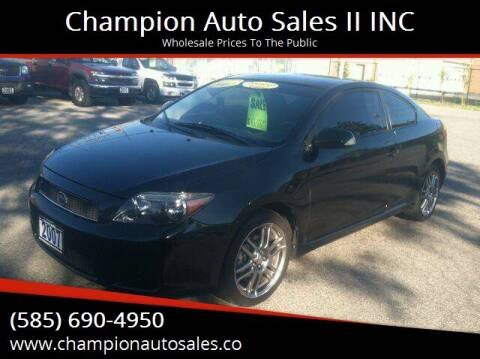 2007 Scion tC for sale at Champion Auto Sales II INC in Rochester NY