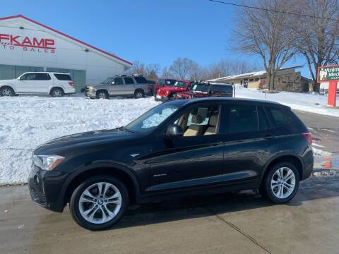 2015 BMW X3 for sale at Efkamp Auto Sales LLC in Des Moines IA