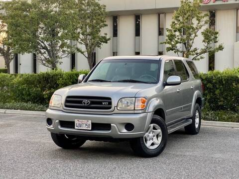 2002 Toyota Sequoia for sale at Carfornia in San Jose CA