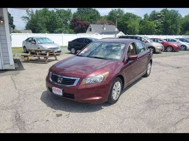 2008 Honda Accord for sale at Colonial Motors in Mine Hill NJ