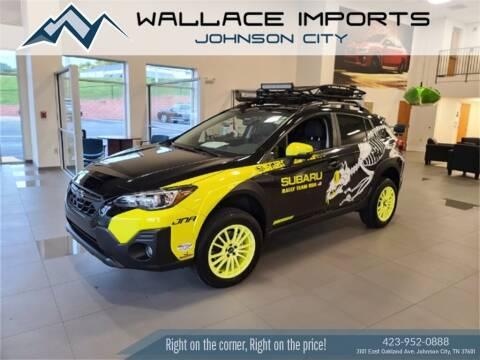2021 Subaru Crosstrek for sale at WALLACE IMPORTS OF JOHNSON CITY in Johnson City TN