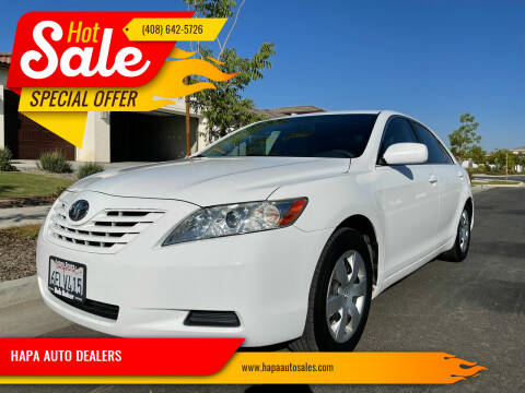 2009 Toyota Camry for sale at HAPA AUTO DEALERS in Santa Clara CA