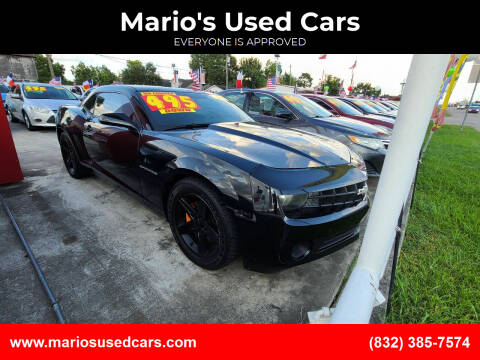 2013 Chevrolet Camaro for sale at Mario's Used Cars - South Houston Location in South Houston TX