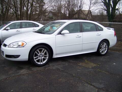2011 Chevrolet Impala for sale at Collector Car Co in Zanesville OH