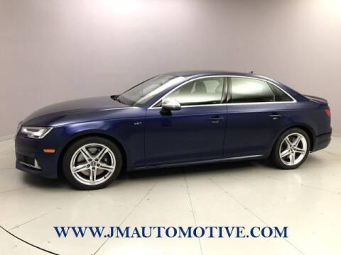 2018 Audi S4 for sale at J & M Automotive in Naugatuck CT
