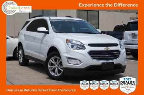 2016 Chevrolet Equinox for sale at Dallas Auto Finance in Dallas TX