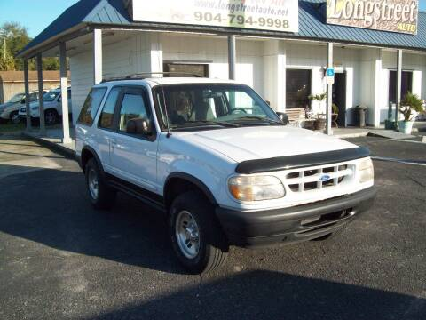 1996 Ford Explorer for sale at LONGSTREET AUTO in St Augustine FL