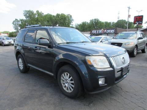 2010 Mercury Mariner for sale at Fox River Motors in Green Bay WI