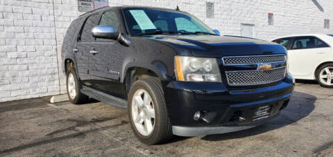 2008 Chevrolet Tahoe for sale at ADVANTAGE AUTO SALES INC in Bell CA