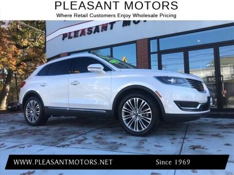 2017 Lincoln MKX for sale at Pleasant Motors in New Bedford MA