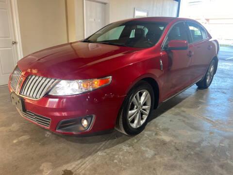2009 Lincoln MKS for sale at Safe Trip Auto Sales in Dallas TX