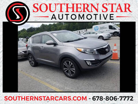 2016 Kia Sportage for sale at Southern Star Automotive, Inc. in Duluth GA