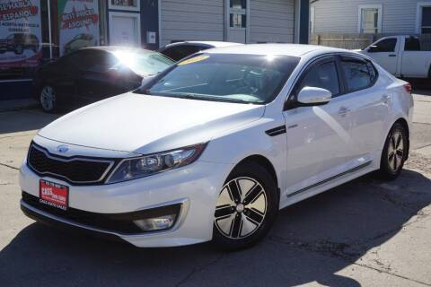 2013 Kia Optima Hybrid for sale at Cass Auto Sales Inc in Joliet IL